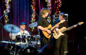 Dennis, Mike Stern and Tom Kennedy in 2010