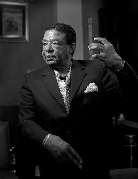 Buster Williams at Iridium, New York, 2014. Photo by William Ellis